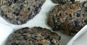 Fabulosa receta para Hamburguesas de porotos negros vegetarianas y sin tacc.