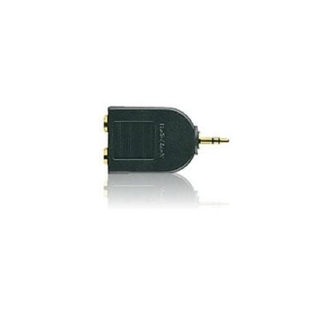 "Make a solid audio connection with this gold-plated Y-adapter.  Accepts two 1/4"" stereo phone plugs. Fits 1/8"" stereo phone jacks. Plus, gold plating reduces corrosion, substantially reduces signal loss and ensures maximum performance.  Parts Warranty: 90 Days"