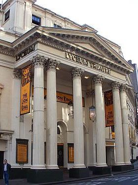 Theatre Fact: The stunning Lyceum Theatre was fully revamped from 1994 to 1996. With rich red and gold, its auditorium was designed beautifully.
