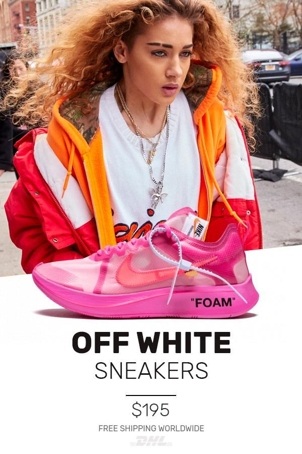 b97f6c694995 Mens size new Nike Off-White The 10   OW Zoom Fly Tulip Pink knock off  sneakers