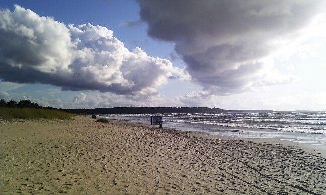 Playa en el Baltico
