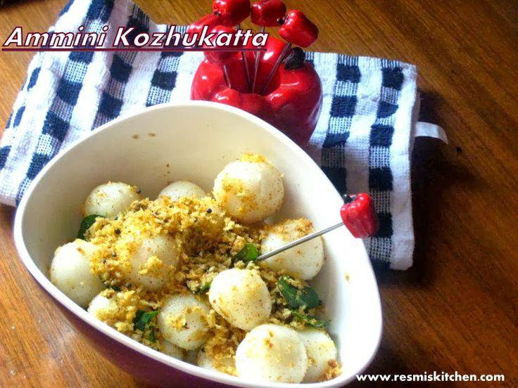 Resmi's kitchen: AMMINI KOZHUKATTA