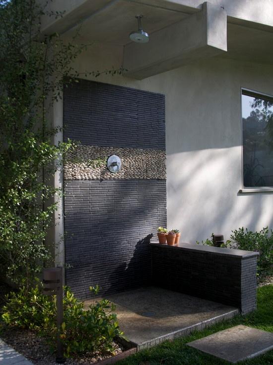 93 best OUTDOOR SHOWER images on Pinterest | Outside ...