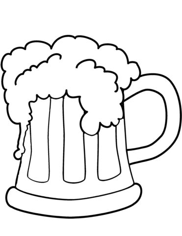 click to see printable version of st patrick's day beer