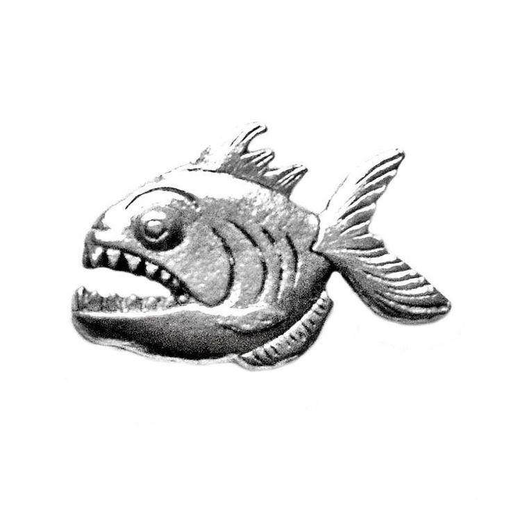 Quality Handcrafts Guaranteed Fish Lapel Pin