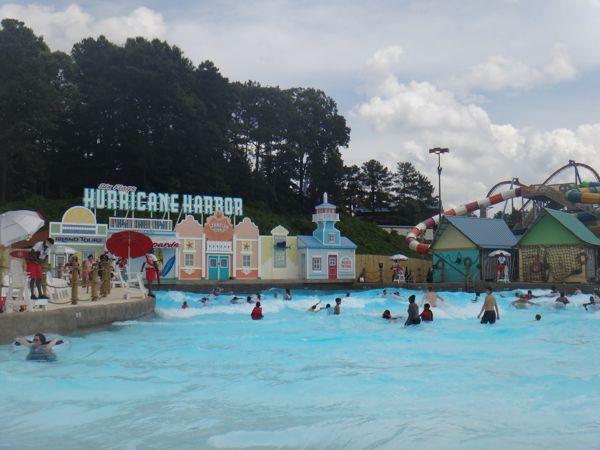 Hurricane Harbor Water Park  at Six Flags Over Georgia