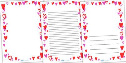 full page heart template - 42 best images about borders on pinterest alphabet