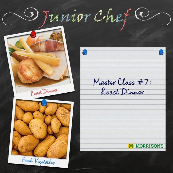 It's the final day of Little Chef! Today's Masterclass is a yummy traditional meal… roast chicken dinner! We hope your little ones have learnt plenty over the week, so you can put all those skills into practice. Ready… Steady… Roast!