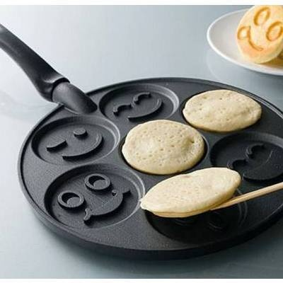 Smiley Face Pancake Maker  So AWESOME