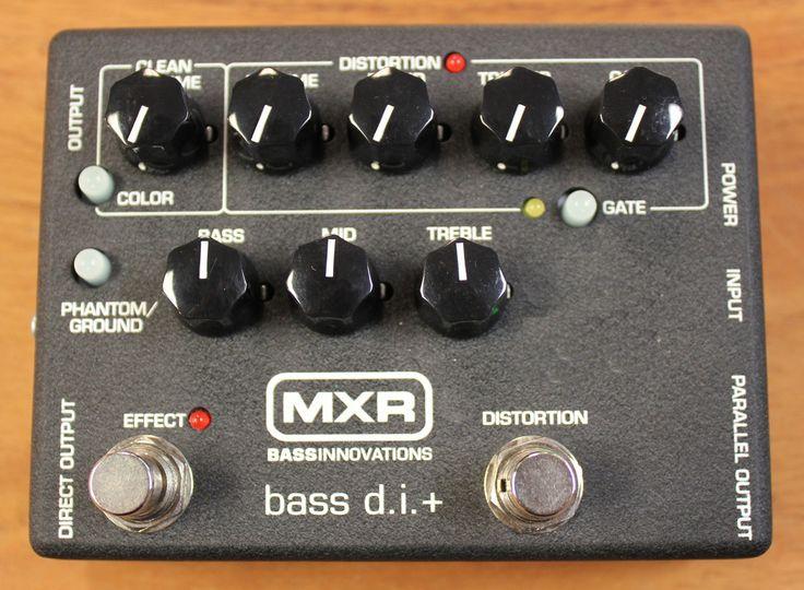 MXR M-80 Bass Direct Box with Distortion Bass Guitar Effects Pedal