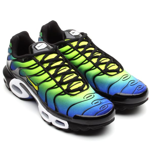 huge selection of b8931 3acd3 Nike Air Max Plus - Hyper Blue  Cyber  Black  Sole Collector  Sneakers  in 2019  Pinterest  Nike air max plus, Nike air max and Nike air max tn