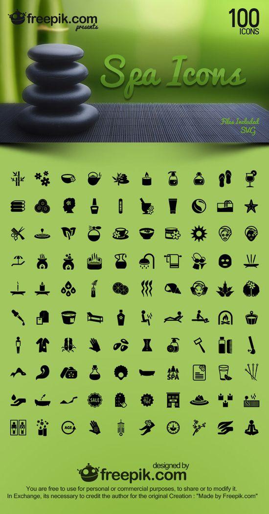 Free SPA Icons