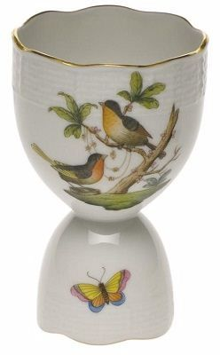 Egg Cup - We today do not use these as often as they did in Victorian time. Often soft boiled eggs were eaten for breakfast.