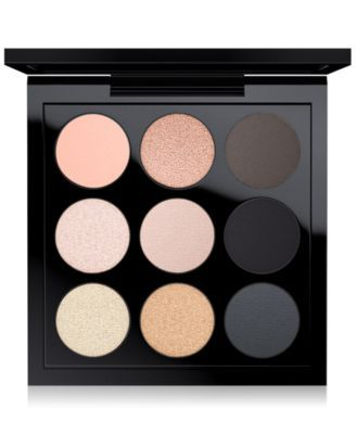 MAC Eye Shadow Palette, Smoky Metallic x 9, Only at Macy's | macys.com
