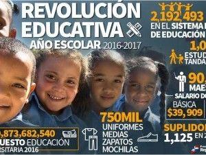 Revolución Educativa año escolar 2016-2017