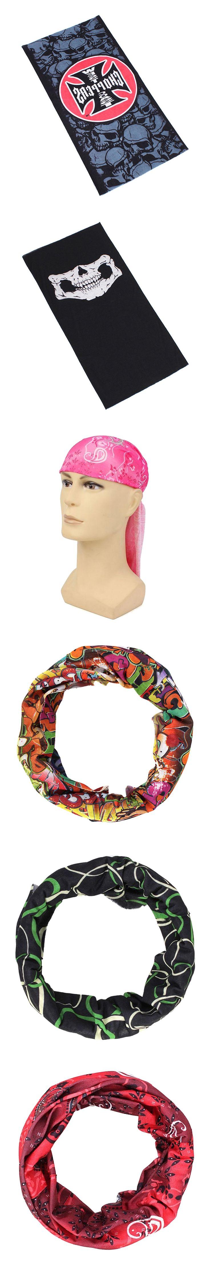 Multifunction scarf neckerchief headwear headband 12 Colors