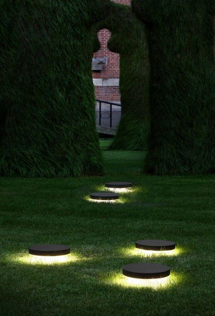 apliques iluminacion jardin