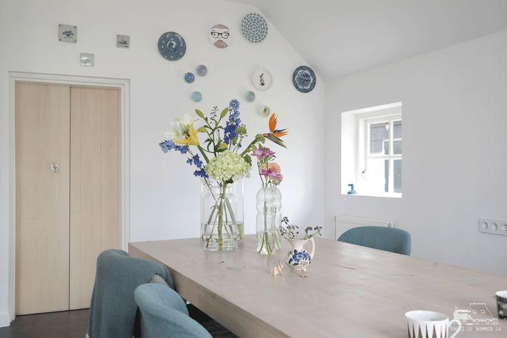 Kitchen #flowerpower #bordenwand