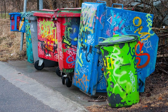 Containers at Christiania