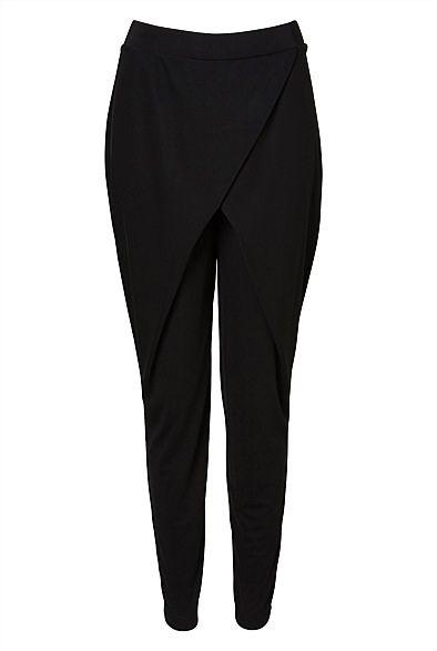 Front Wrap Jersey Pant #witcherywishlist
