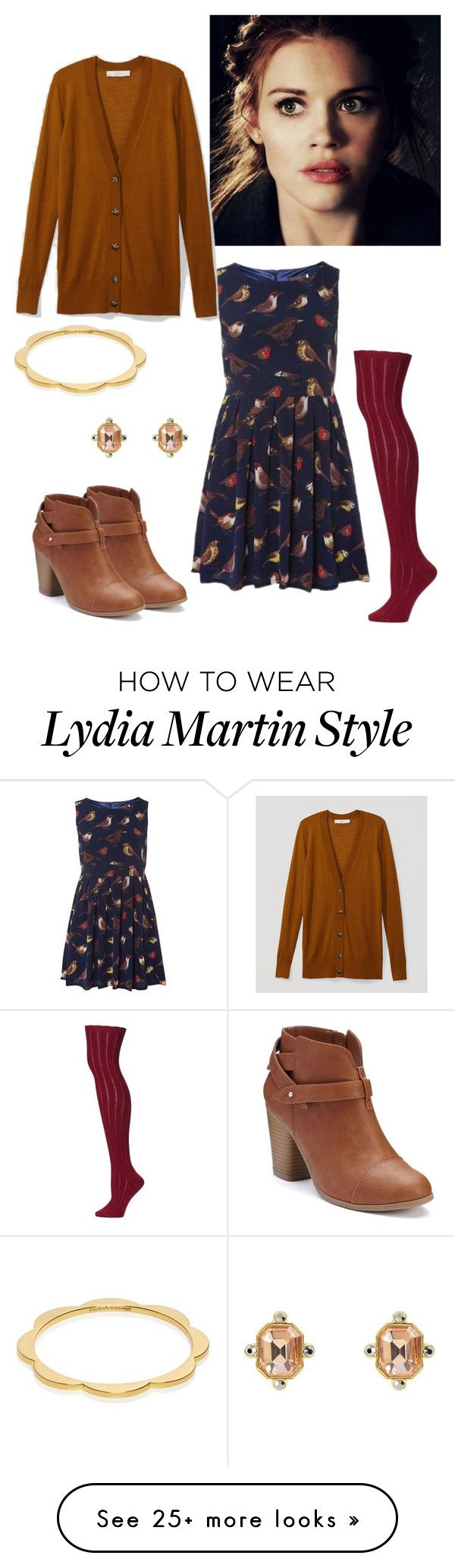 """Lydia Martin inspired"" by fashionista-diva-983 on Polyvore featuring Tenki, Free People, LOFT, LC Lauren Conrad, Kate Spade and Juicy Couture"