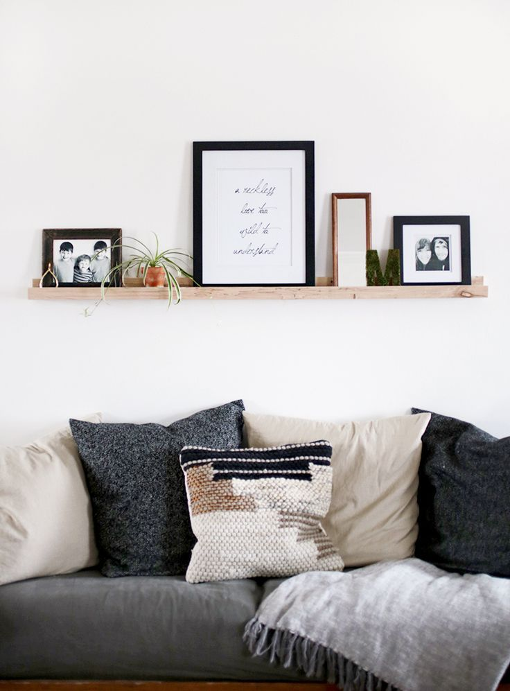 DIY Picture Ledge /themerrythought/