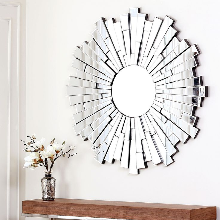 Abbyson Living Empire Round Wall Mirror Overstock
