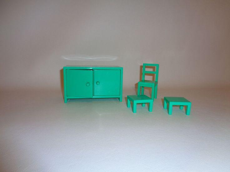 ikea miniature furniture. IKEA Dolls House Green Furniture | EBay Ikea Miniature