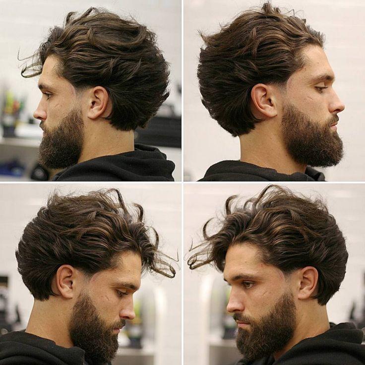 Top Herrenfrisur 2020: Lange Frisur für Männer + Bart Herrenfrisuren von 2020