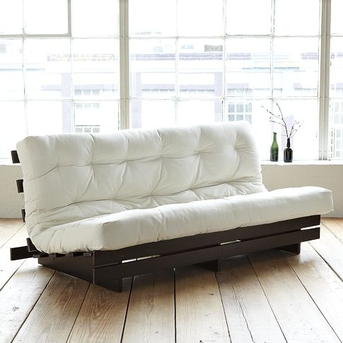 this would be really nice in the office.  can convert into guest room.      Full Futon Mattress | west elm