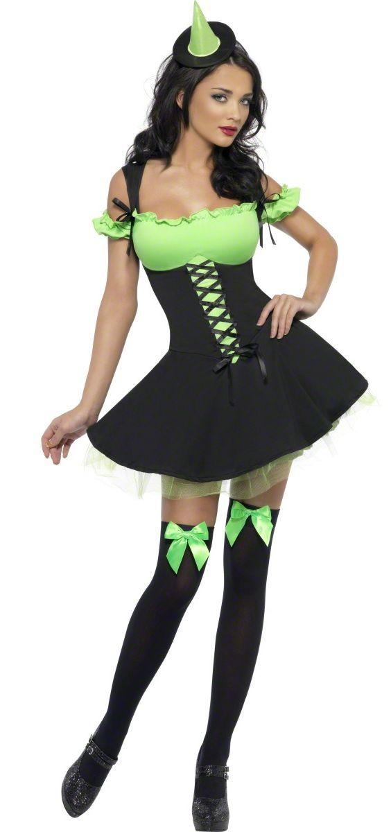 Sexy groene heks kostuum voor Halloween: Volwassenen Kostuums,en goedkope carnavalskleding - Vegaoo