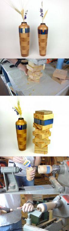 Деревянная ваза своими руками — Своими руками