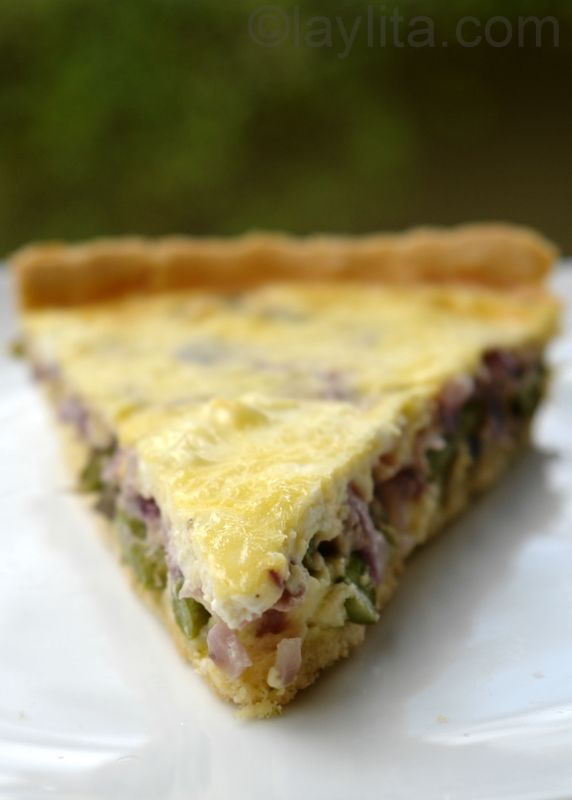 Asparagus and goat cheese tart recipe