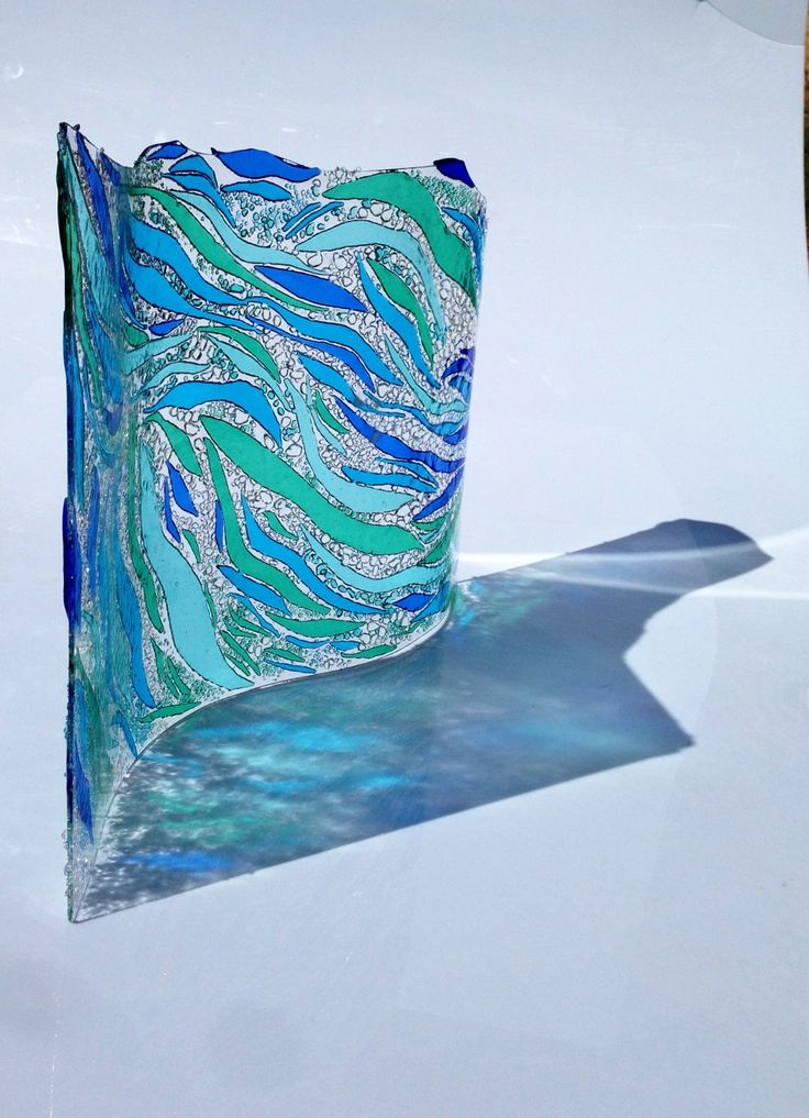 17 Best Images About Waves Fused Glass Ideas On
