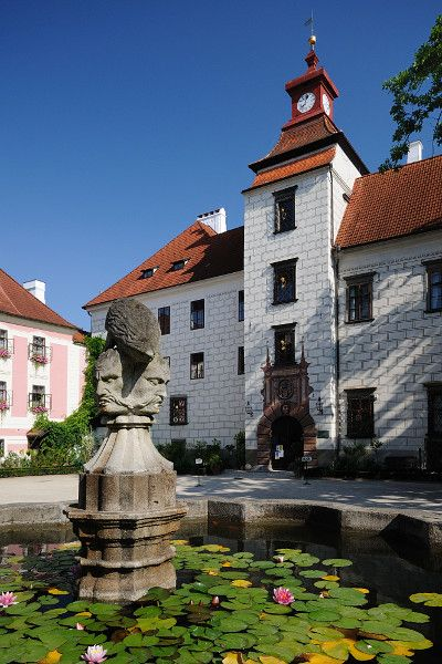Castle in Třeboň (South Bohemia), Czechia