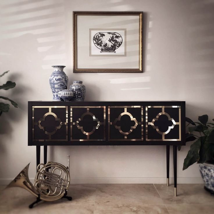 Kallax grows up to be a glamorous credenza
