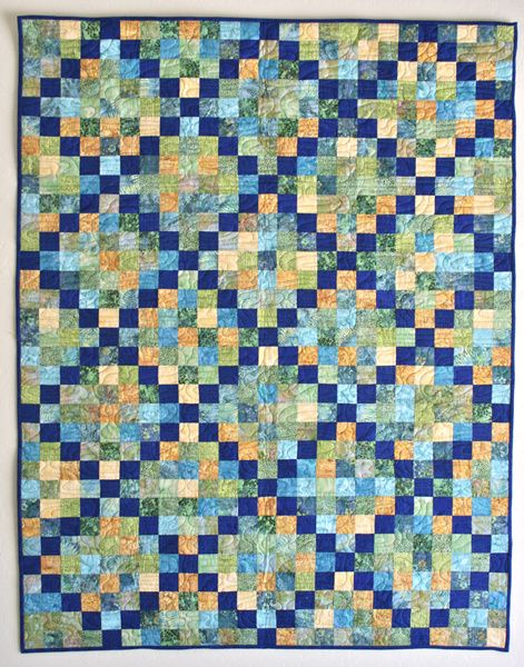 Irish Chain Strip Quilt