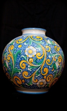 Sicilian Baroque vase | Touch of Sicily - pottery Visit our on-line shop at www.touchofsicily.it now!
