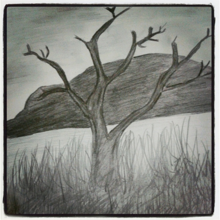 Sketsa Pemandangan My Sketch Painting Sketches Art