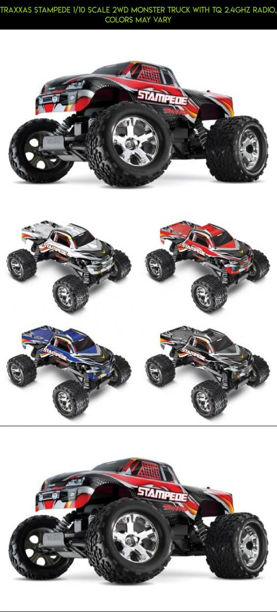 Traxxas Stampede 1/10 Scale 2WD Monster Truck with TQ 2.4GHz Radio, Colors May Vary #1 #plans #technology #kit #camera #fpv #tech #traxxas #shopping #racing #gadgets #drone #parts #10 #products