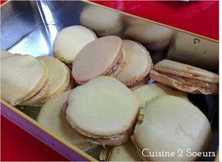 Cuisine 2 Soeurs: Macarons aux pommes et au caramel