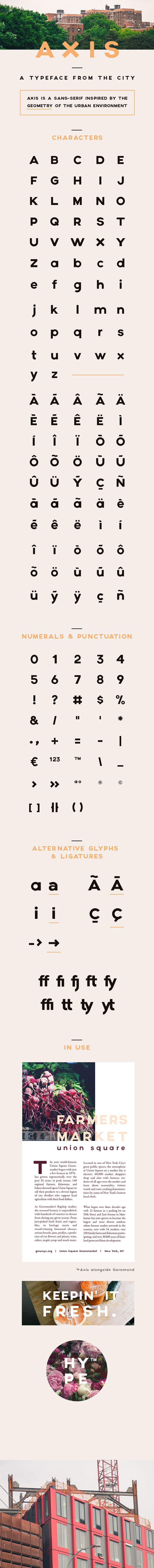 AXIS Typeface #type #free #download http://www.behance.net/gallery/17890579/AXIS-Typeface