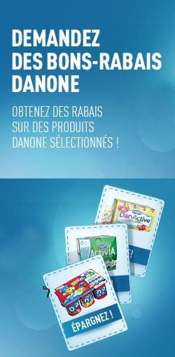 Livret de coupons Danone. http://rienquedugratuit.ca/coupons/livret-de-coupons-danone/