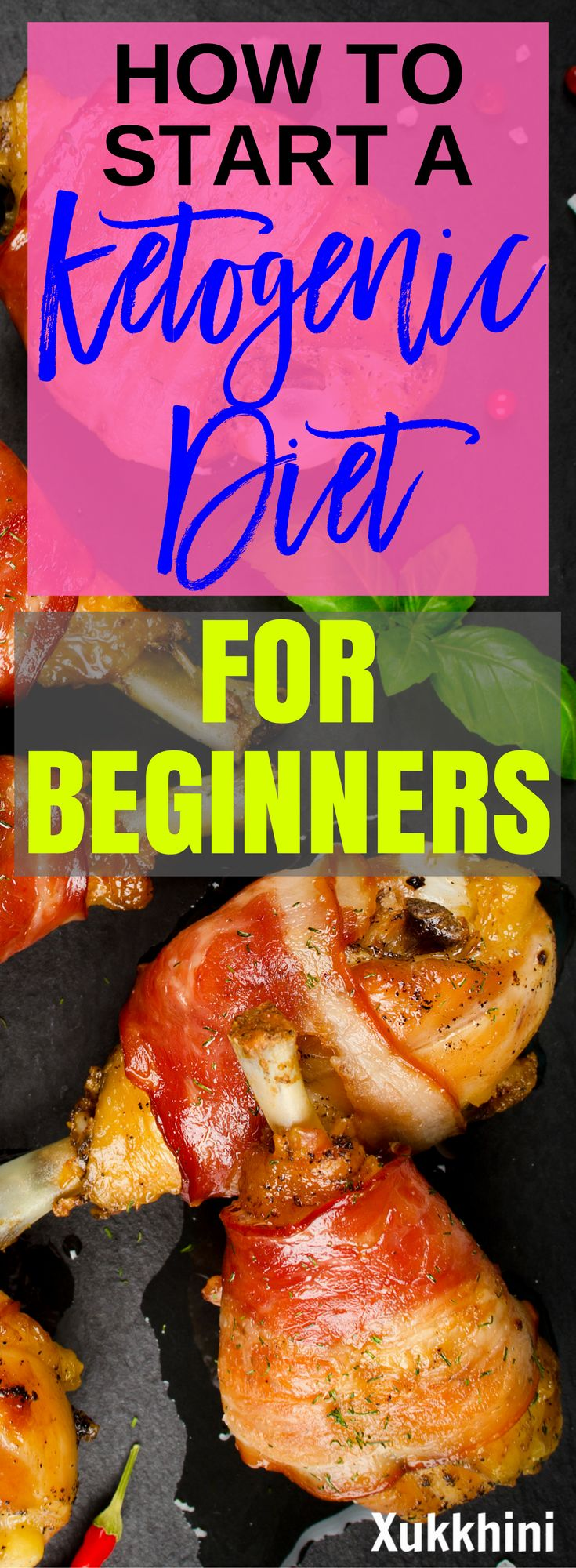 Start losing weight today without ever feeling hungry with the ultimate step-by-step beginner's guide to the ketogenic diet. This is the diet that will make you thin! #KetogenicDiet #KetogenicDietForBeginners #KetogenicDietForWeightLoss | Ketogenic Diet P