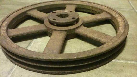 how to make a pulley wheel with coat hanger