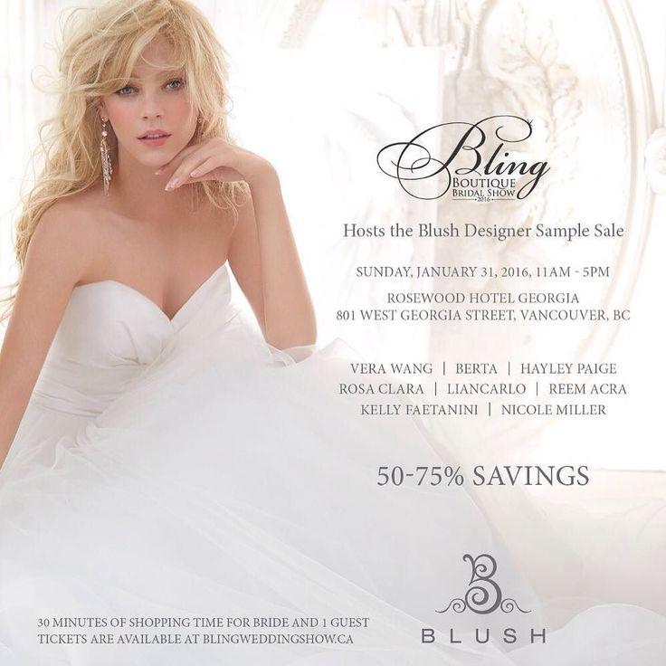Vancouver Vancouverbride Weddingdress Blush Blushbrudal Blingbridalshow Weddings By Vancouverwedding Vancouverweddingdress