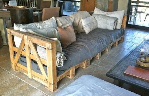 Мебель из поддонов своими руками. Что можно сделать из паллетов?