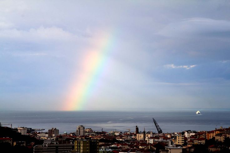 L 'altra settimana la natura ci ha fatto un regalo , un meraviglioso arcobaleno che per più di un'ora ha fatto compania ai miei ospiti duran...