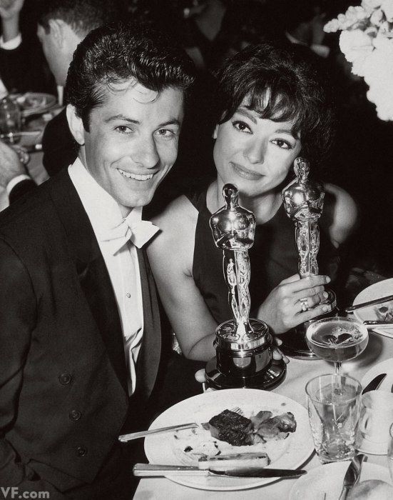 #Sixties | George Chakiris and Rita Moreno with their West Side Story Oscars