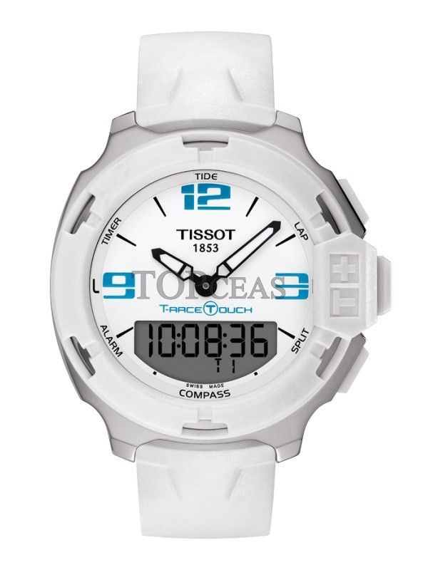 Ceasul Tissot T-Race Touch Steel White